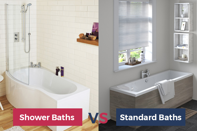 shower baths versus standard baths on the heatandplumb blog