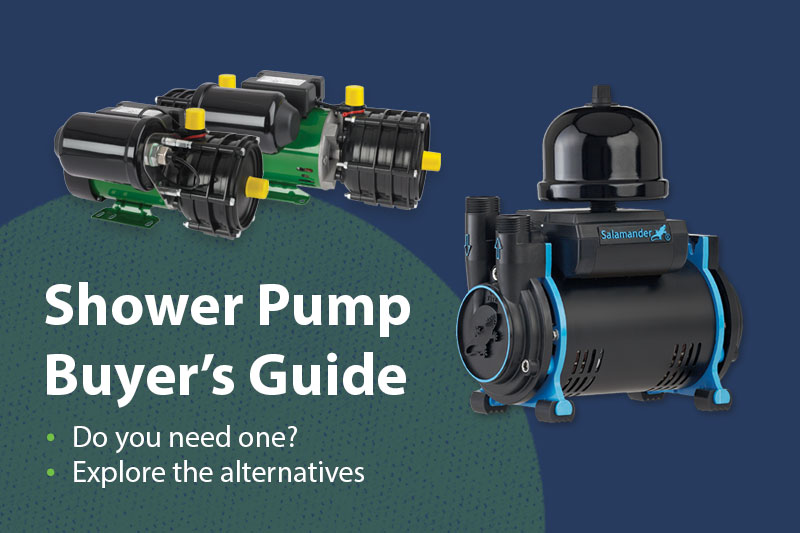 Do you need a shower pump? It's a question that gets asked rather a lot and we help with the answer