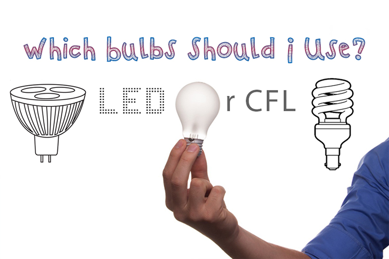 An image for the article which bulb should i use - LED or CFL from the guide on heatandplumb.com