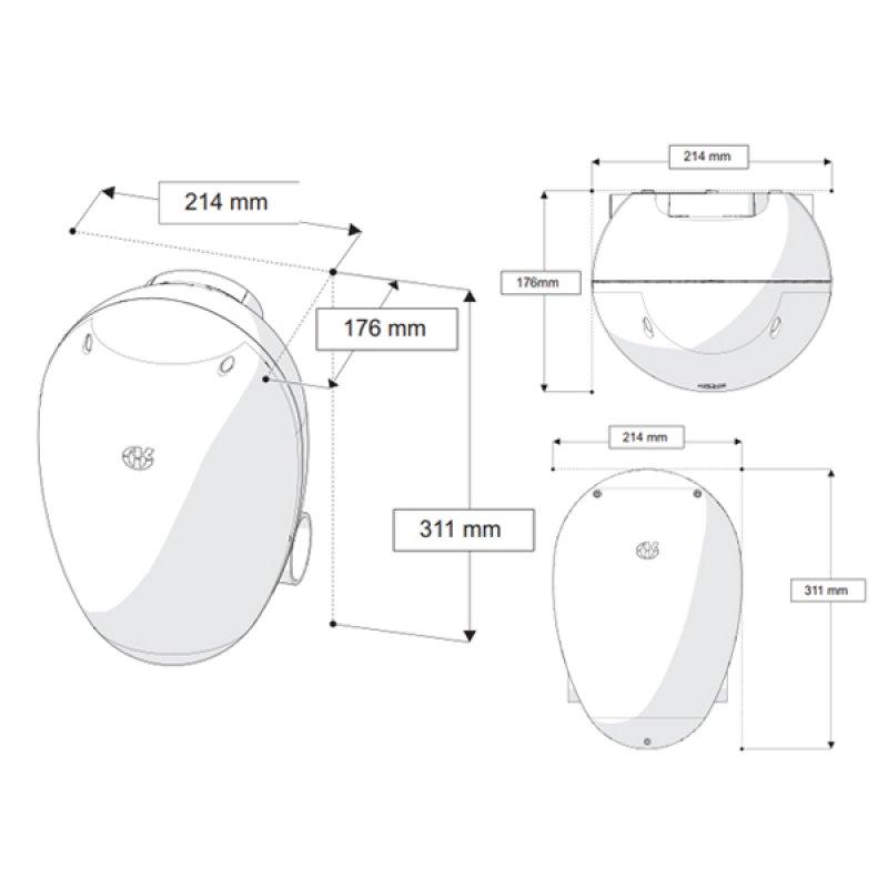 AKW Digipump M17 Silentflow+ Bathroom Waste Pump