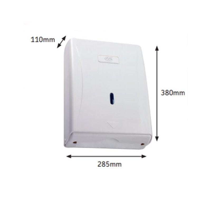 AKW Plastic Bathroom Paper Towel Dispenser