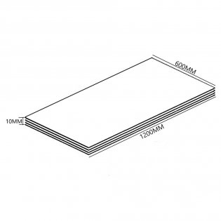 Aquashine Tile Backer Board Floor Kit 4.32m2 - 10mm