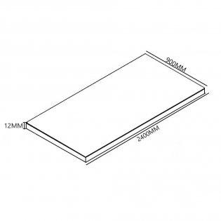 Aquashine Wide Tile Backer Board 2400mm x 900mm - 12mm (Pack of 5 Boards)