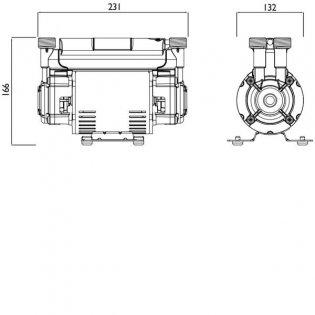 Bristan Twin Impeller Shower Booster Pump, 1.5 Bar, Black