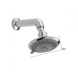 Sagittarius Storm 4 Mode Fixed Shower Head and Arm