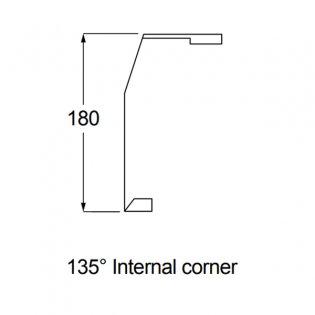 Smiths Sureline 135 Degree Internal Corner Piece
