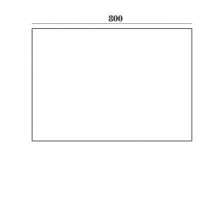 Verona Aquapure End Bath Panel 450mm H x 800mm W - Gloss White