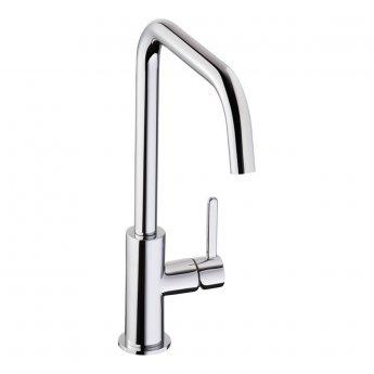 Abode Althia Single Lever Kitchen Sink Mixer Tap - Chrome