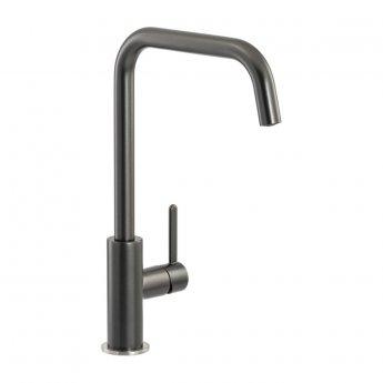 Abode Althia Single Lever Kitchen Sink Mixer Tap - Graphite