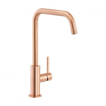 Abode Althia Single Lever Kitchen Sink Mixer Tap - Urban Copper
