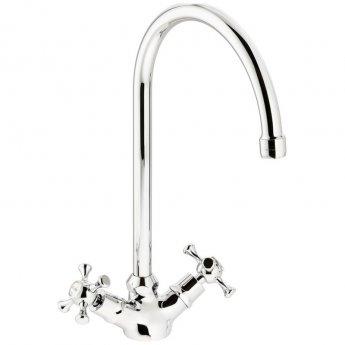 Abode Burford Monobloc Kitchen Sink Mixer Tap - Chrome