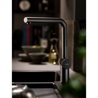 Abode Fraction Kitchen Sink Mixer Tap - Matt Black