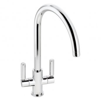 Abode Globe Monobloc Kitchen Sink Mixer Tap - Chrome