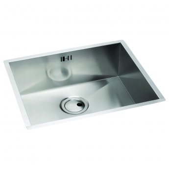 Abode Matrix R0 1.0 Bowl Undermount Kitchen Sink 540mm L x 440mm W - Stainless Steel
