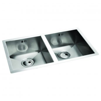 Abode Matrix R0 2.0 Bowl Undermount Kitchen Sink 776mm L x 460mm W - Stainless Steel