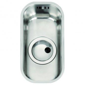 Abode Matrix R50 0.5 Bowl Undermount Kitchen Sink 168mm L x 318mm W - Stainless Steel