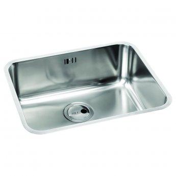 Abode Matrix R50 1.0 Bowl Undermount Kitchen Sink 370mm L x 430mm W - Stainless Steel