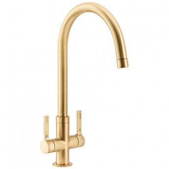 Abode Pico Monobloc Kitchen Sink Mixer Tap - Brushed Brass