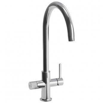Abode Puria Aquifier Kitchen Sink Mixer Tap - Chrome