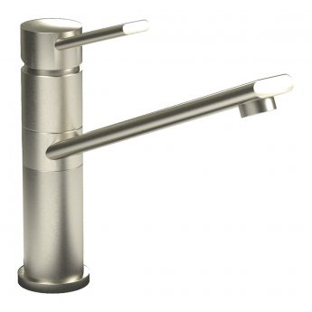 Abode Specto Single Lever Kitchen Sink Mixer Tap - Brushed Nickel