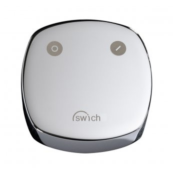 Abode Swich Square Handle Diverter Valve with Classic Filter - Chrome