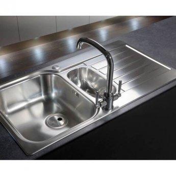 Abode Tate Monobloc Kitchen Sink Mixer Tap - Chrome