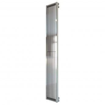 Aeon Stria Designer Vertical Radiator 2000mm H x 525mm W - Brushed Matt
