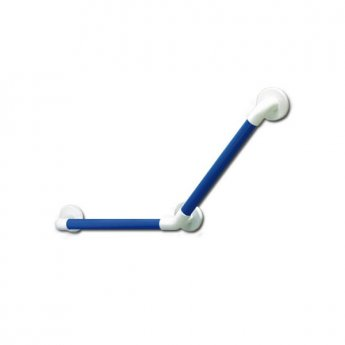 AKW 1900 Series 135 Degree Angled Grab Rail, 457mm Length, Blue