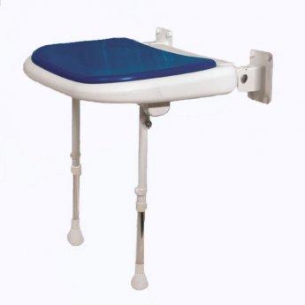 AKW 4000 Series Standard Shower Seat Blue