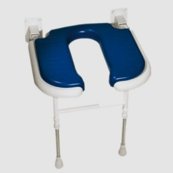 AKW 4000 Series Standard Horseshoe Seat Blue