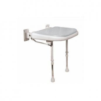 AKW 4000 Series Extra Wide Shower Seat Grey