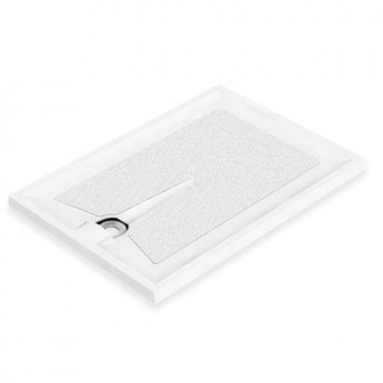AKW Braddan Rectangular Shower Tray, 1200mm x 700mm, Non-Handed