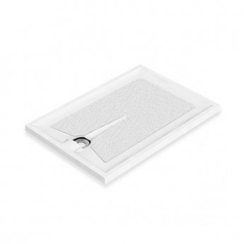 AKW Braddan Rectangular Shower Tray, 1800mm x 700mm, Non-Handed