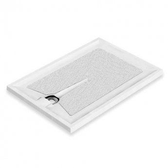 AKW Braddan Rectangular Shower Tray, 1200mm x 820mm, Non-Handed