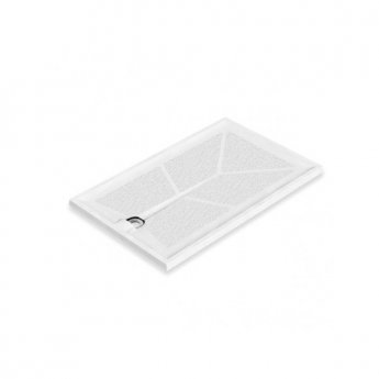 AKW Braddan Rectangular Shower Tray, 1300mm x 820mm, Non-Handed