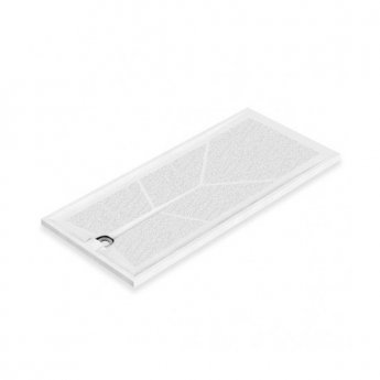 AKW Braddan Rectangular Shower Tray, 1800mm x 820mm, Non-Handed