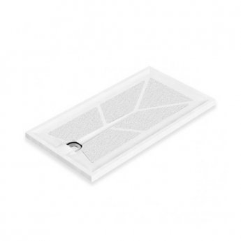 AKW Braddan Rectangular Shower Tray, 1200mm x 650mm, Non-Handed