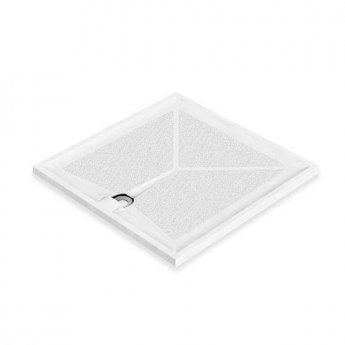 AKW Braddan Square Shower Tray, 1000mm x 1000mm, Non-Handed