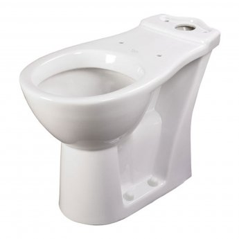 AKW 460L Raised Height Close Coupled Toilet WC Pan 750mm Projection