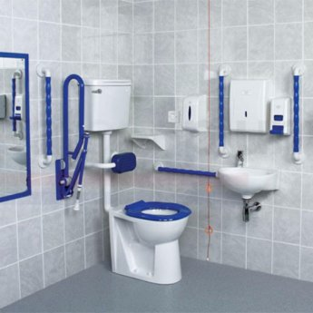 AKW Fully Compliant Doc M Pack with Low Level Disabled Toilet