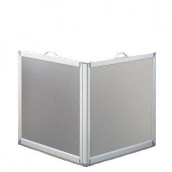 AKW Freeway 2 Panel Portable Shower Screen, 1000mm x 1000mm, 750mm High