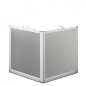 AKW Freeway 2 Panel Portable Shower Screen, 650mm x 650mm, 900mm High
