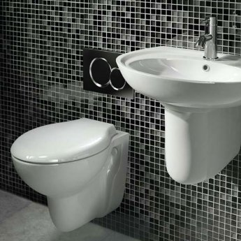 AKW Livenza Wall Hung Toilet - Standard Seat