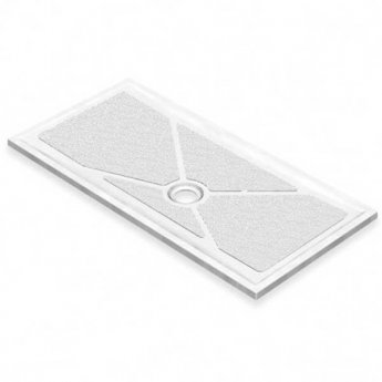 AKW Low Profile Rectangular Shower Tray, 1420mm x 700mm, Non-Handed