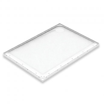 AKW Mullen Rectangular Shower Tray with Gravity Waste 1300mm x 700mm - Right Handed