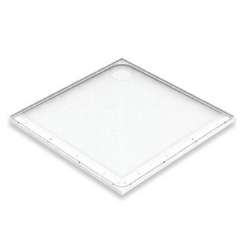 AKW Mullen Square Shower Tray, 1000mm x 1000mm, Non-Handed