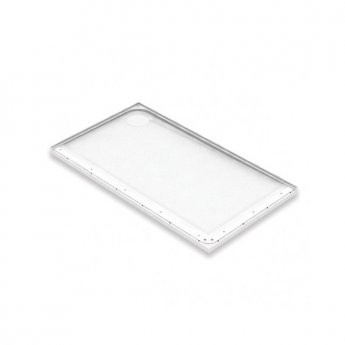 AKW Mullen Rectangular Shower Tray, 1300mm x 700mm, Left Handed
