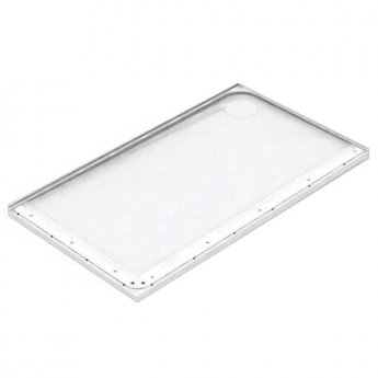 AKW Mullen Rectangular Shower Tray, 1420mm x 700mm, Right Handed