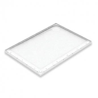AKW Mullen Rectangular Shower Tray with Gravity Waste 1200mm x 700mm - Right Handed
