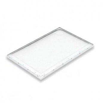 AKW Mullen Rectangular Shower Tray, 1300mm x 820mm, Right Handed